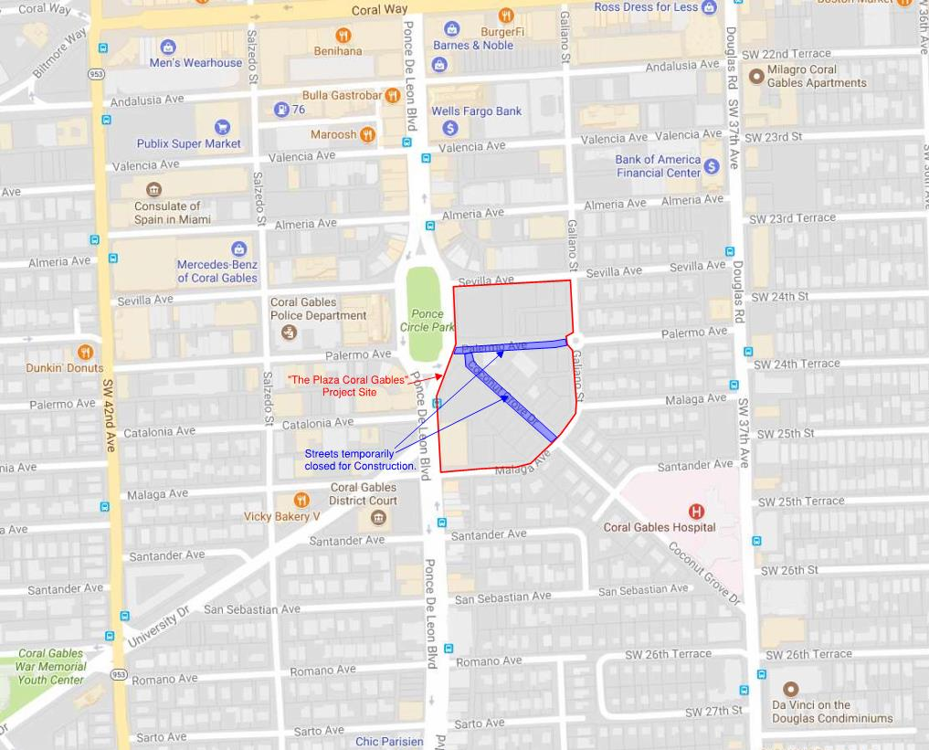map street closure-Nov 2017